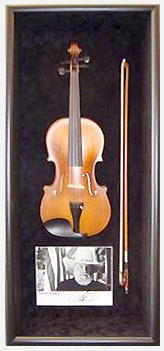 Charley-Daniels-signed-fiddle-shadowbox