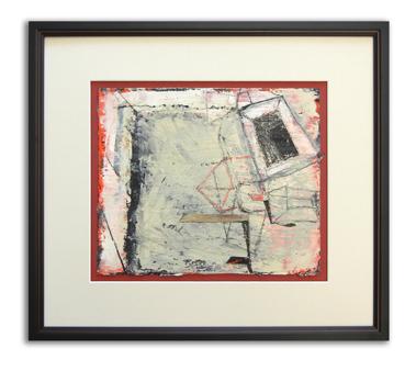 Encaustic on paper / 0wner-Paul Brophy