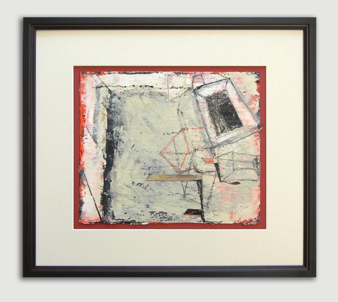 Encaustic on paper / 0wner-PaulBrophy