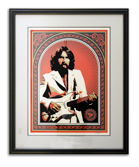 George Harrison Poster / Owner: Lauren Distler