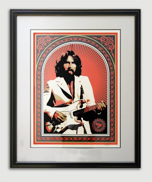 George Harrison Poster / Owner: Lauren Distler