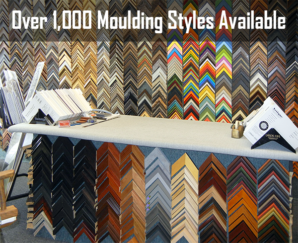 Over 1,000 moulding styles available