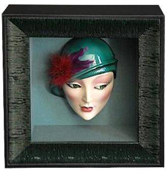 Mask in Shadowbox Frame